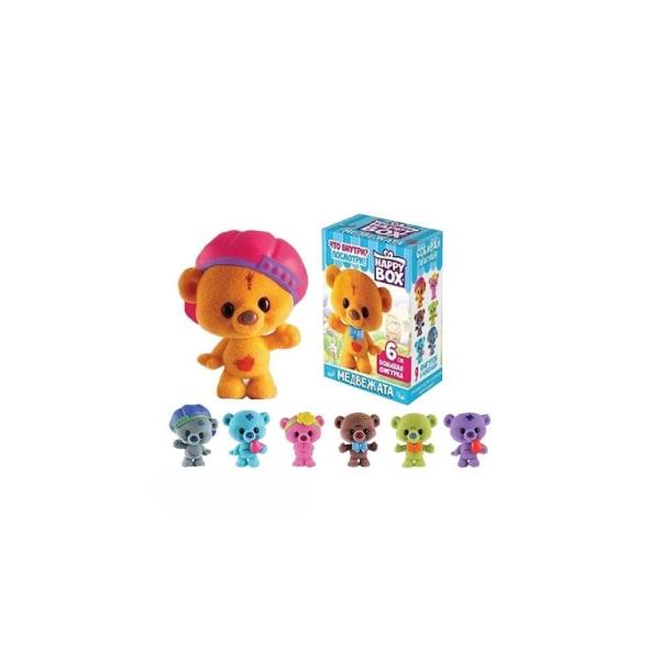 Карамель в коробочке HAPPY BOX Медвежата