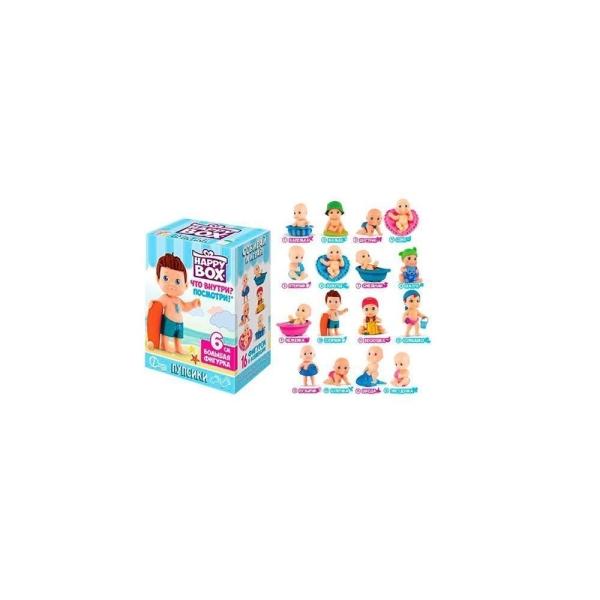 Карамель в коробочке HAPPY BOX Пупсики