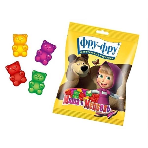 Мармелад жевательный медведи Маша и Медведь