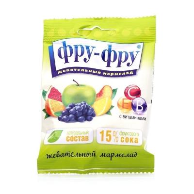 Мармелад жевательный Фру-Фру азбука с витаминами