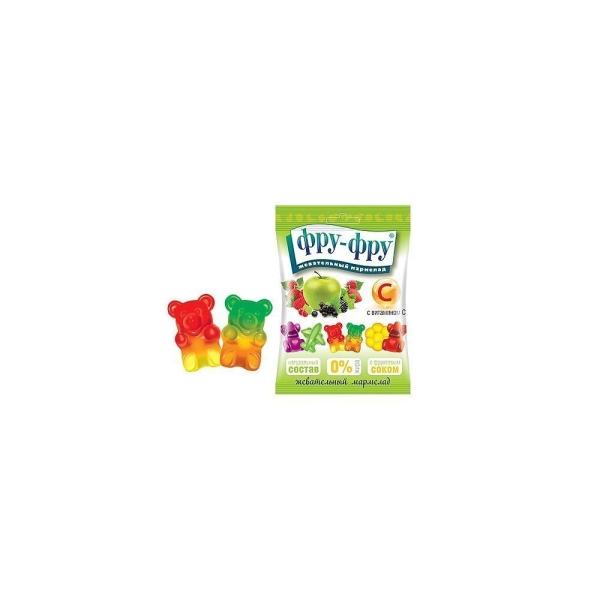 Мармелад жевательный Фру-Фру медведики с витамином С