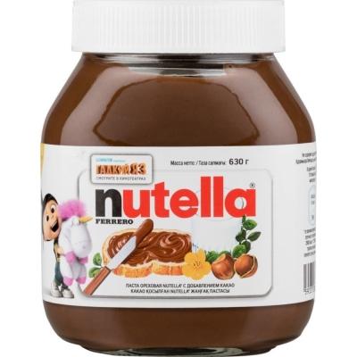 Паста Нутелла ореховая с добавлением какао
