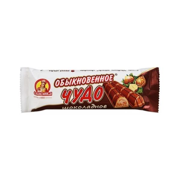 Батончик Славянка Обыкновенное чудо шоколадный