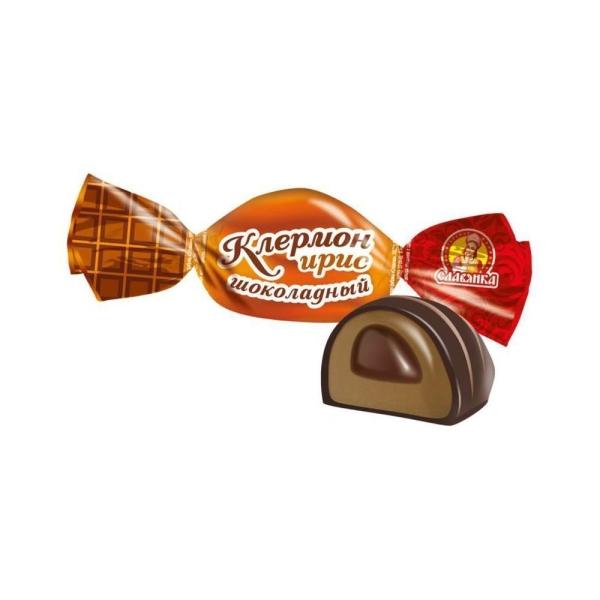 Конфеты Славянка Клермон шоколадный ирис