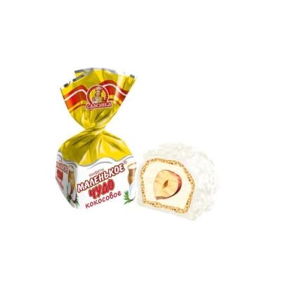 Конфеты Славянка Маленькое чудо кокос