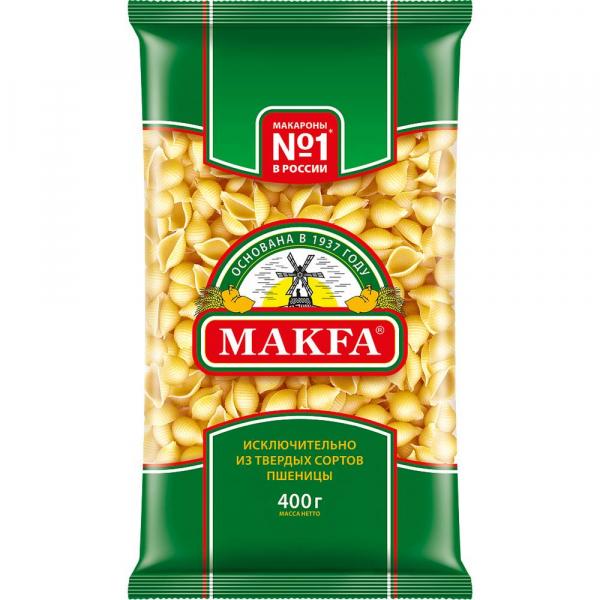 Макаронные изделия MAKFA №225 ракушки