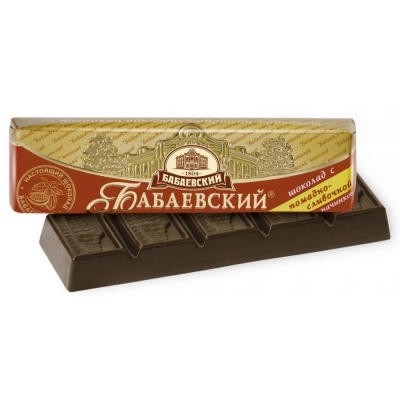 Батончик шоколадный Бабаевский помадно-сливочный