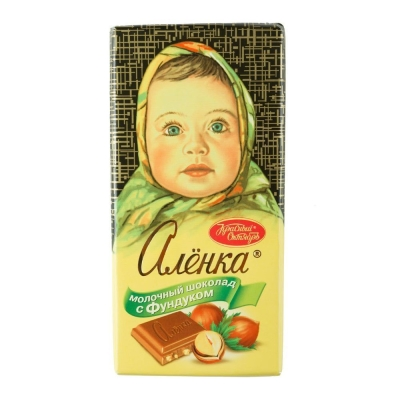 Шоколад Аленка фундук