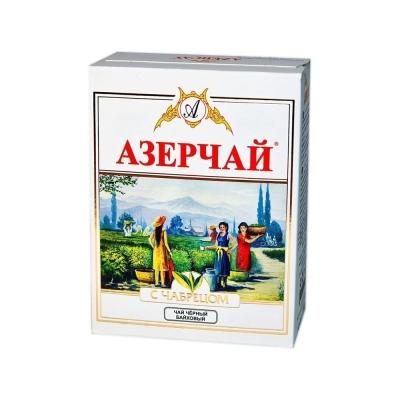 Чай АЗЕРЧАЙ Черный с Чабрецом