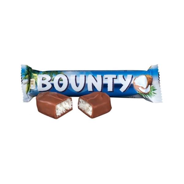 Батончик шоколадный Баунти