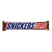 Батончик шоколадный Сникерс СУПЕР