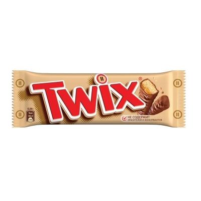 Батончик шоколадный Твикс