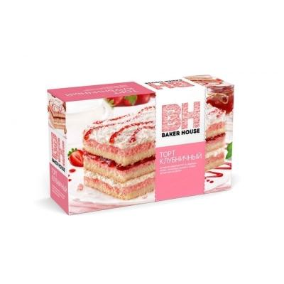 Торт бисквитный Baker House Клубника