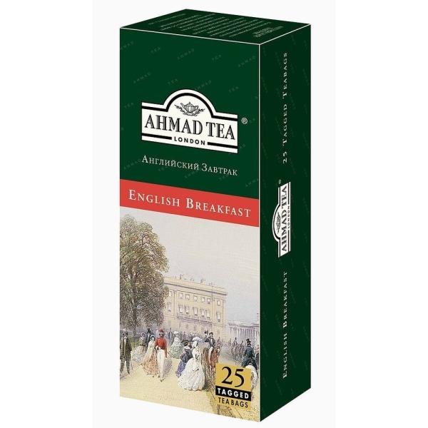 Чай Ахмад Английский завтрак 25 пак с ярлыком