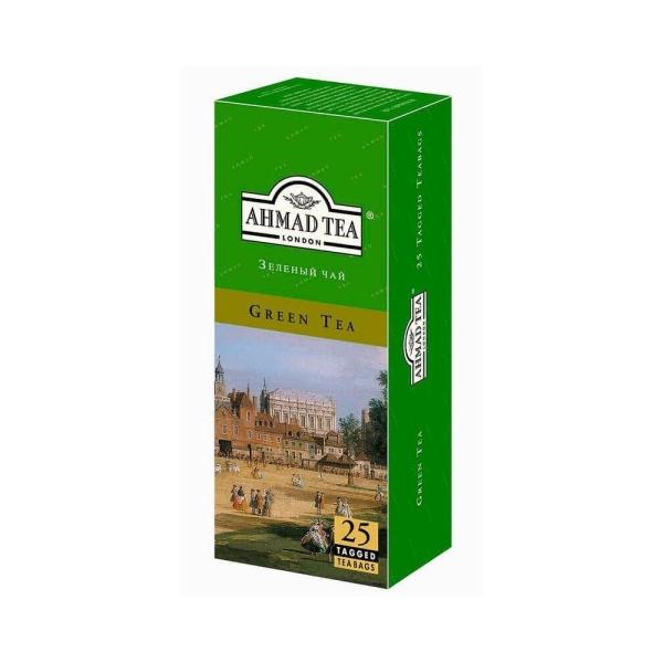 Чай Ахмад Зеленый 25 пак