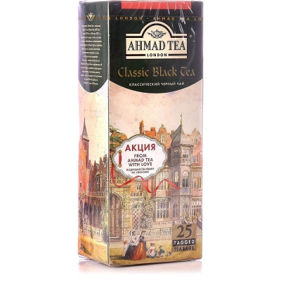 Чай Ахмад Классический Черный 25 пак