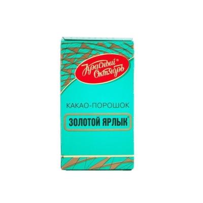 Какао порошок Красный октябрь Золотой ярлык