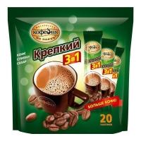 Кофе Московская кофейня на паях 3 в 1 крепкий