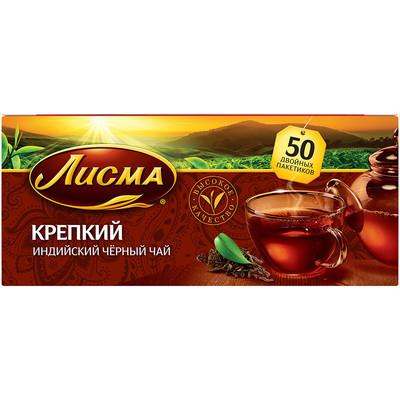 Чай Лисма Крепкий 25 пак