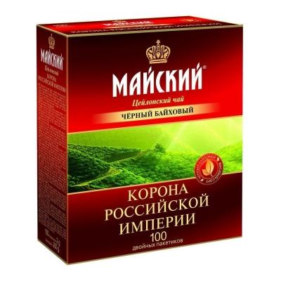 Чай Майский Корона Российской Империи 100 пак