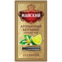 Чай Майский Элит Ароматный Бергамот 25 пак