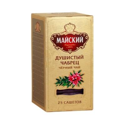 Чай Майский Элит Душистый Чабрец 25 пак