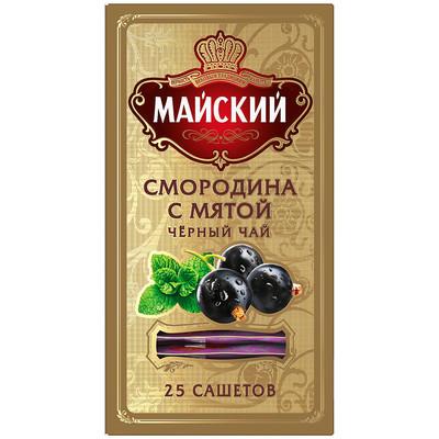 Чай Майский Элит Смородина с Мятой 25 пак