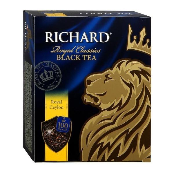 Чай Ричард Роял Цейлон 100 пак