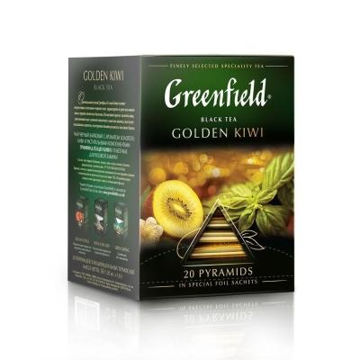 Чай Гринфилд Голден Киви 20 пак пирамида