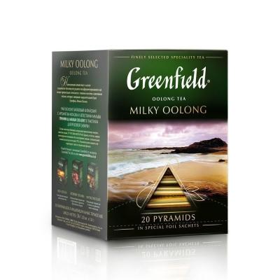 Чай Гринфилд Милки Оолонг 20 пак пирамида
