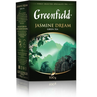 Чай Гринфилд Жасмин Дрим зеленый