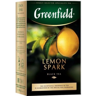 Чай Гринфилд Лимон Спарк