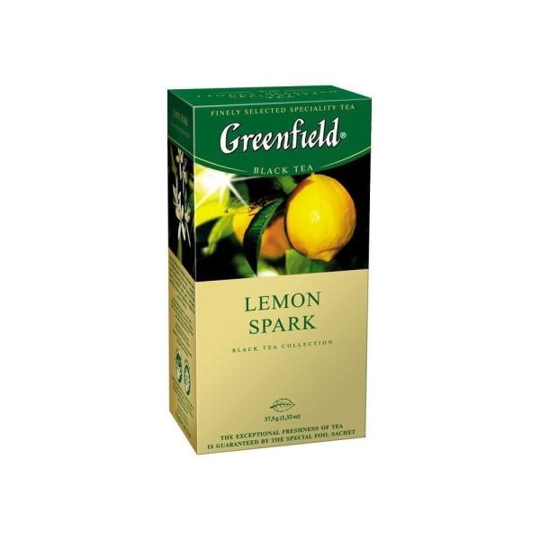 Чай Гринфилд Лимон Спарк 25 пак