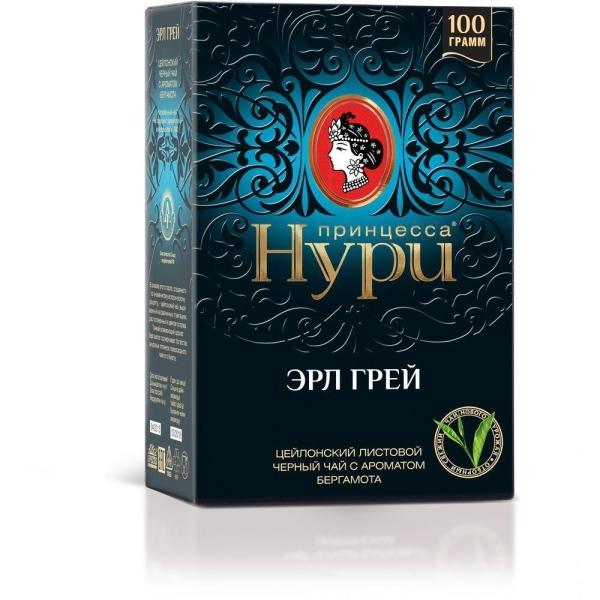 Чай Принцесса Нури Эрл Грей крупнолистовой