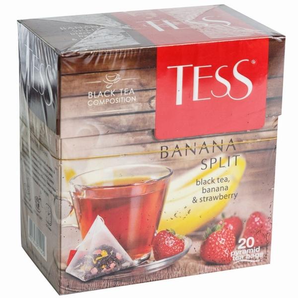 Чай Тess Банана Сплит 20 пак пирамида