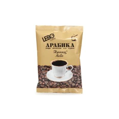 Кофе Принц Лебо молотый для турки в/с