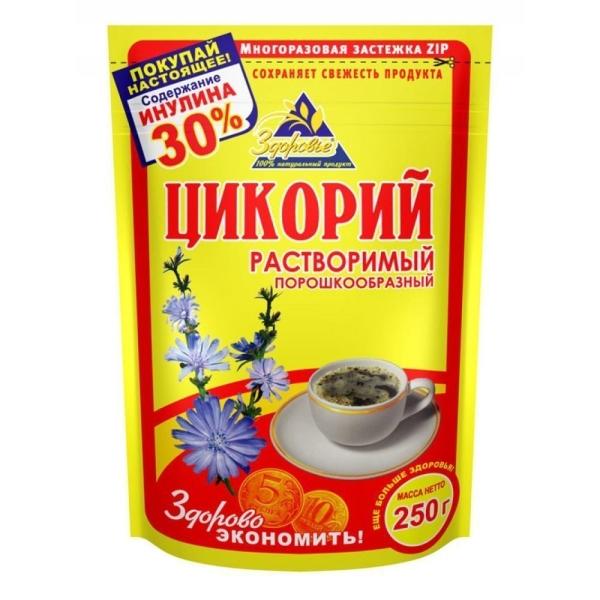 Цикорий порошковый Здоровье Желтый