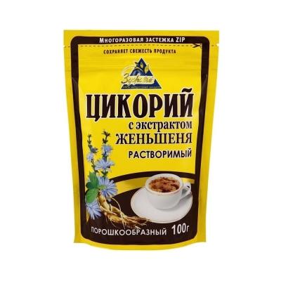 Цикорий порошковый Здоровье Женьшень коричневый