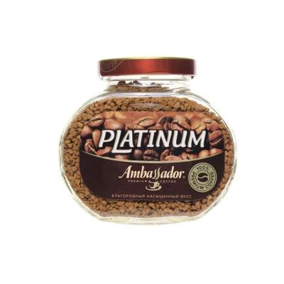 Кофе Амбассадор Platinum сублимрованный