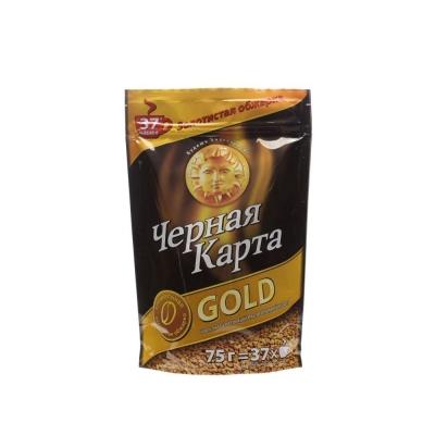 Кофе Черная Карта Голд сублимированный
