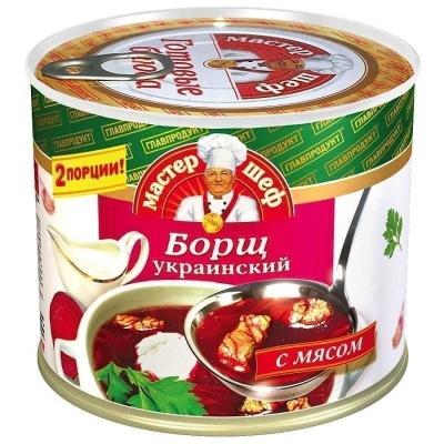 Борщ Главпродукт украинский с мясом ТУ