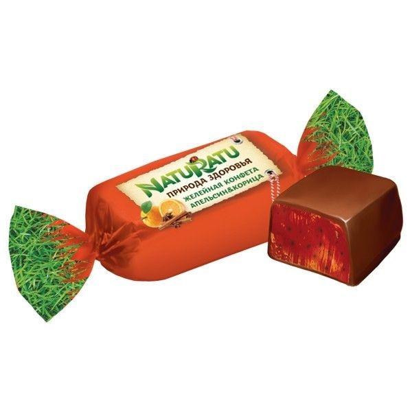 Конфеты Сладуница NatuRatu апельсин/корица