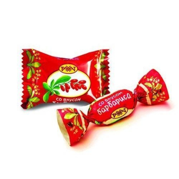 Карамель Рахат Со вкусом Барбариса