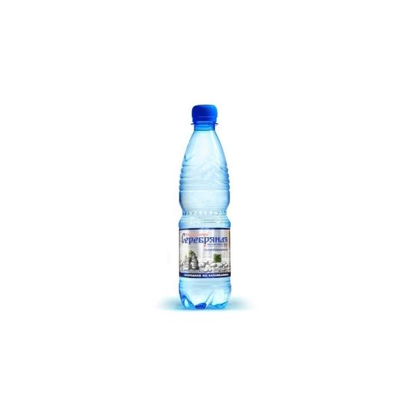 Вода минеральная Серебряная Усть-Быстра газированная