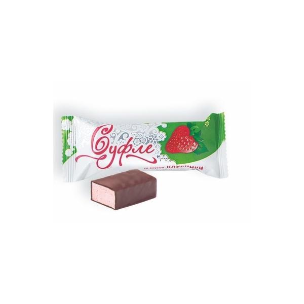 Конфеты Нальчик-сладость Суфле со вкусом клубники