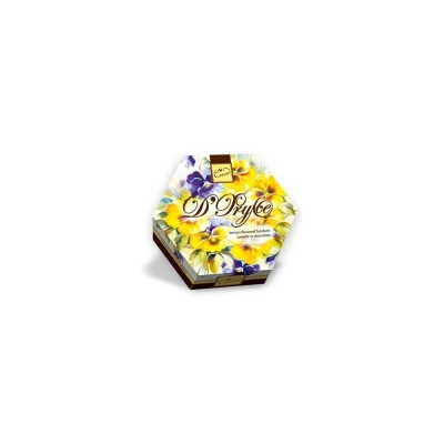 Набор конфет Шоколадный Кутюрье Де-Фрулье Анютины глазки лимон