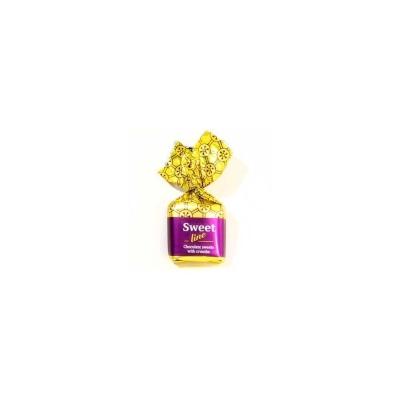 Конфеты Шоколадный Кутюрье Sweet Line с вафельной крошкой (квадрат)