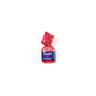 Конфеты Шоколадный Кутюрье Sweet Line с карамельной крошкой (квадрат)
