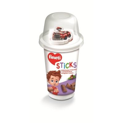 Вафельная трубочка FINETI мини STICKS с игрушкой