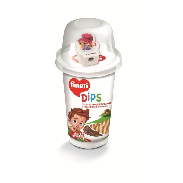 Паста ореховая FINETI DIPS с игрушкой